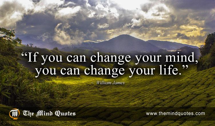 William James change your life