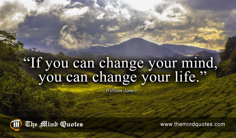 William James change your life